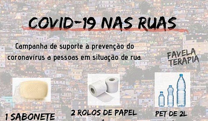 AJUDE A PREVENÇÃO DO #COVID-19 NAS RUAS