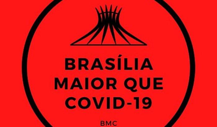 Brasília maior que COVID impressão 3D - 1