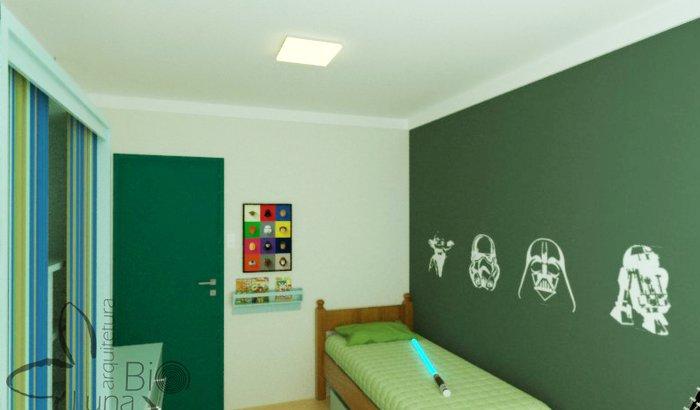 Um quarto novo pro meu rockstar