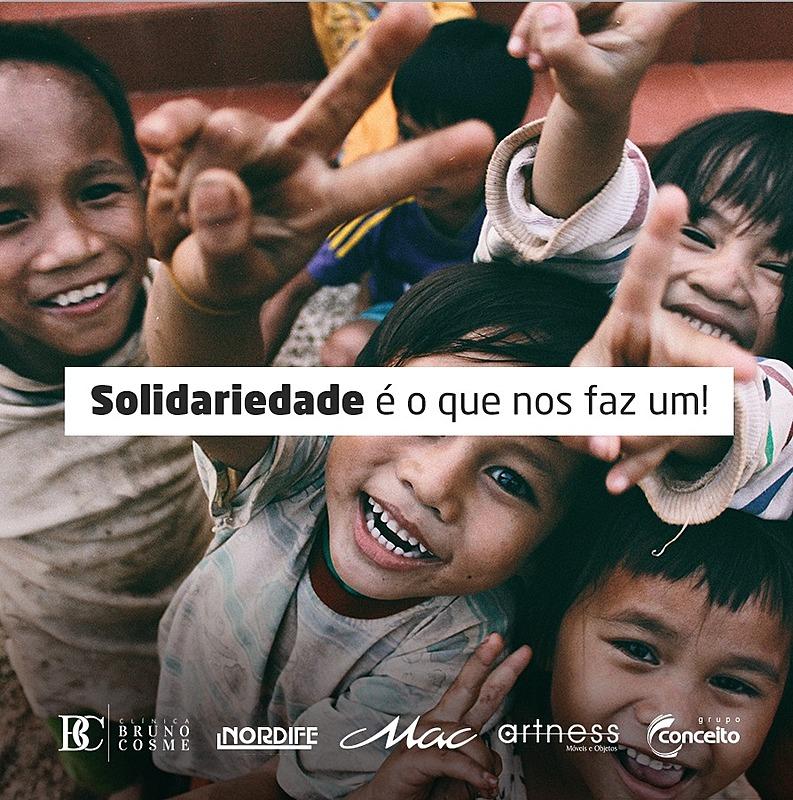 A solidariedade é o que nos faz um!