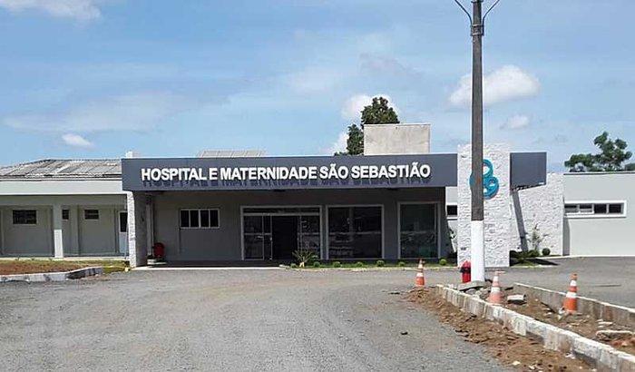 Respirador e EPI's Hospital São Sebastião Papanduva SC