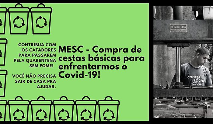 MESC - Compra de cestas básicas para enfrentarmos o Covid-19!