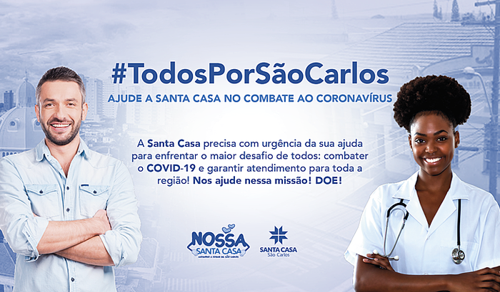 #TodosPorSãoCarlos - Ajude a Santa Casa