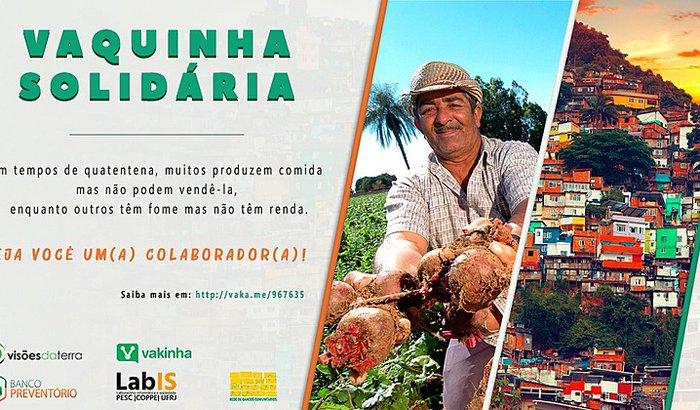 Ajude as favelas com produtos da agricultura familiar