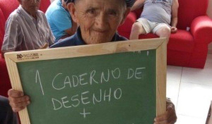 Doação para o Asilo São Vicente de Paulo, na cidade da Lapa