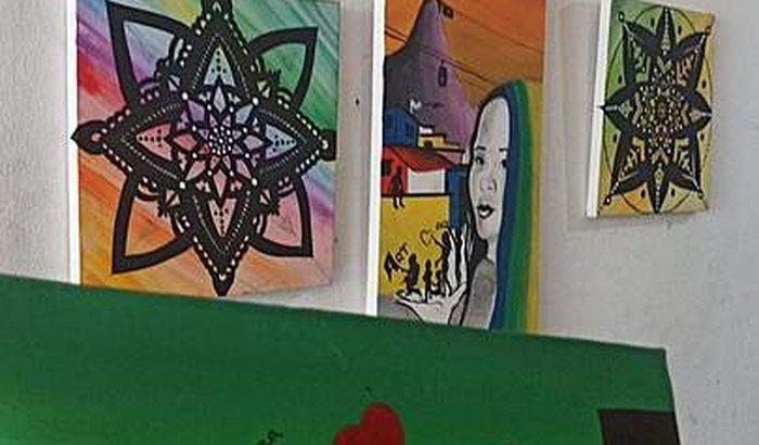 Favela Art combatendo o covid-19