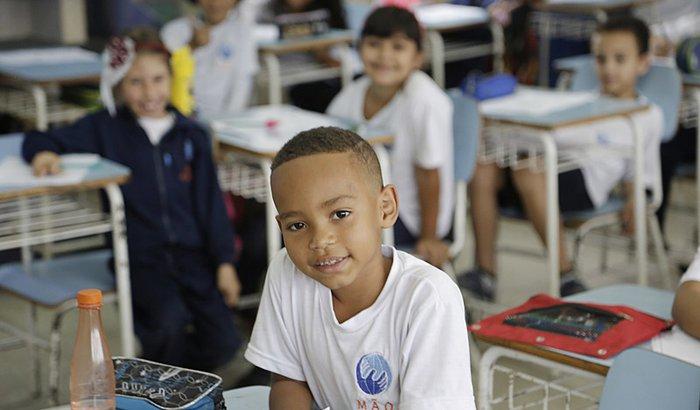 Ação emergencial na pandemia aos alunos
