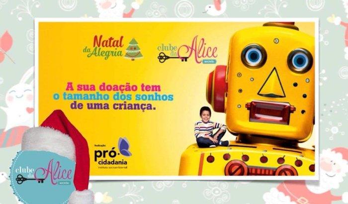 Campanha Natal IPCC/ Clube da Alice