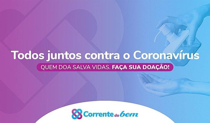 CORRENTE DO BEM CONTRA O CORONAVIRUS