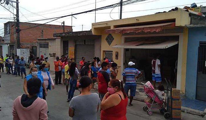 Solidariedade às favelas e ocupações em São Paulo