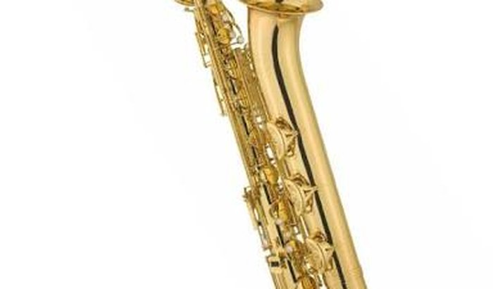 Compra de um saxofone barítono.