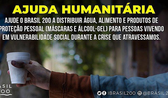 Ajuda Humanitária Brasil 200