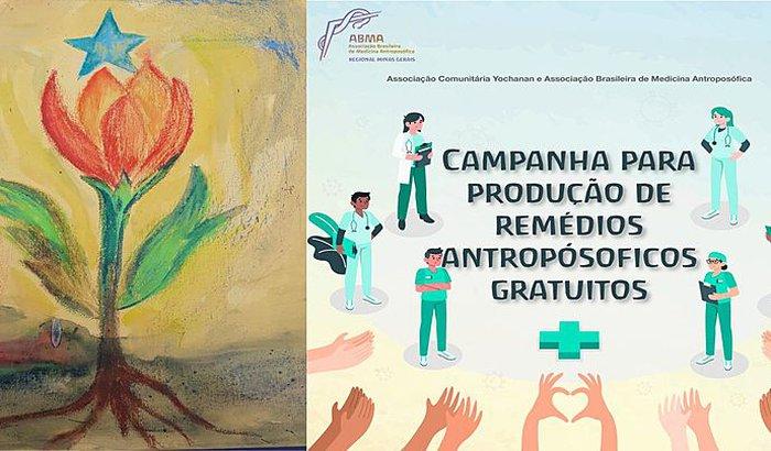 Campanha para produção de remédios antroposóficos gratuitos.