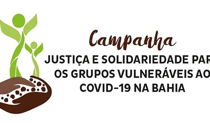 Solidariedade para os grupos vulneráveis ao Covid-19 na Bahia