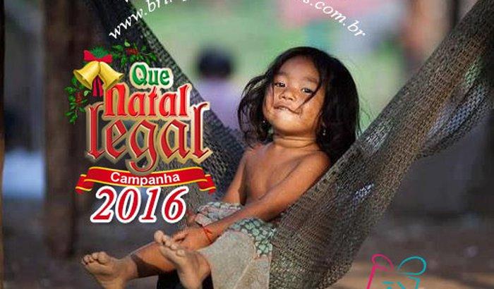 Natal para as crianças indígenas da Aldeia Trevo