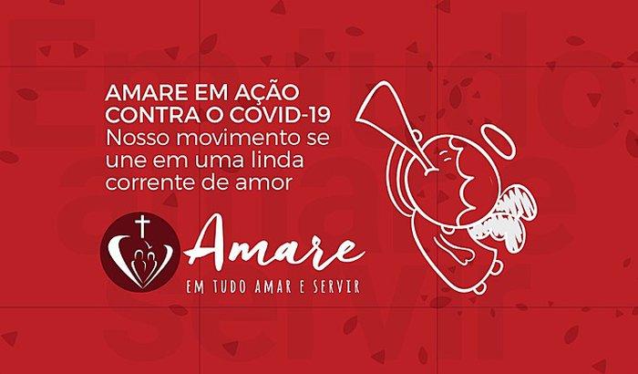 AMARE EM AÇÃO CONTRA O COVID-19