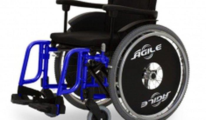 Cadeira rodas.