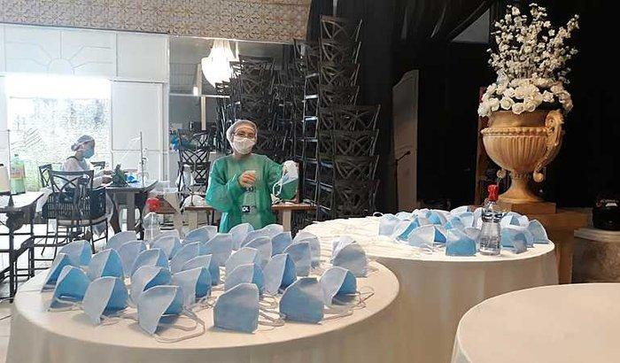 Fabricação de Mascaras no combate ao COVID 19